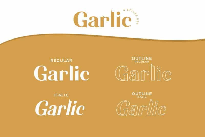 Garlic Sans