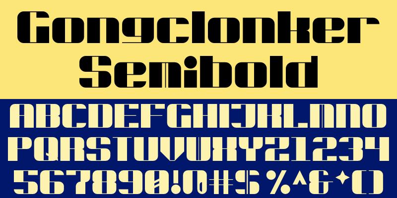 Gongclonker Semibold