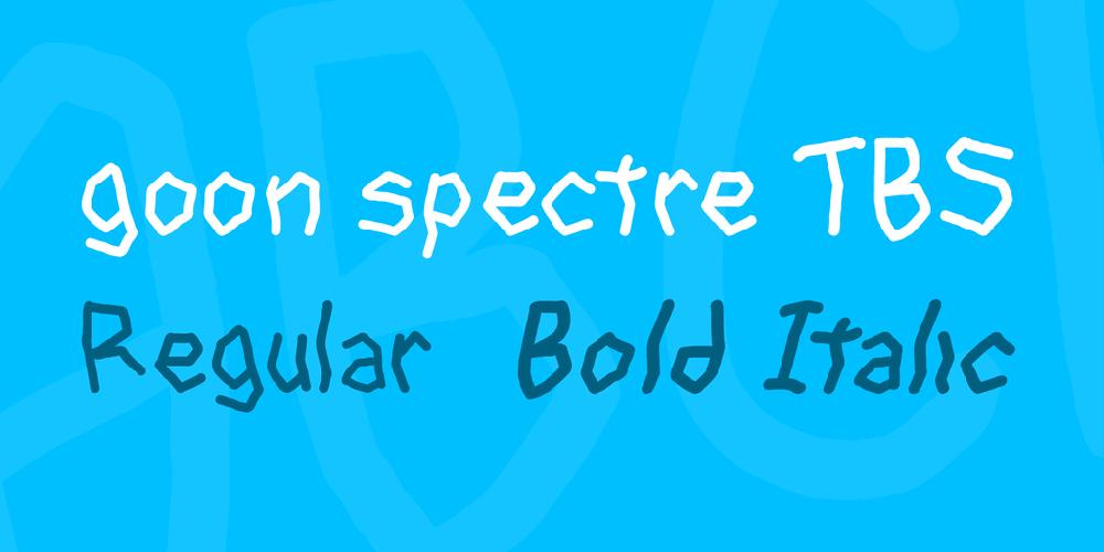 goon spectre TBS