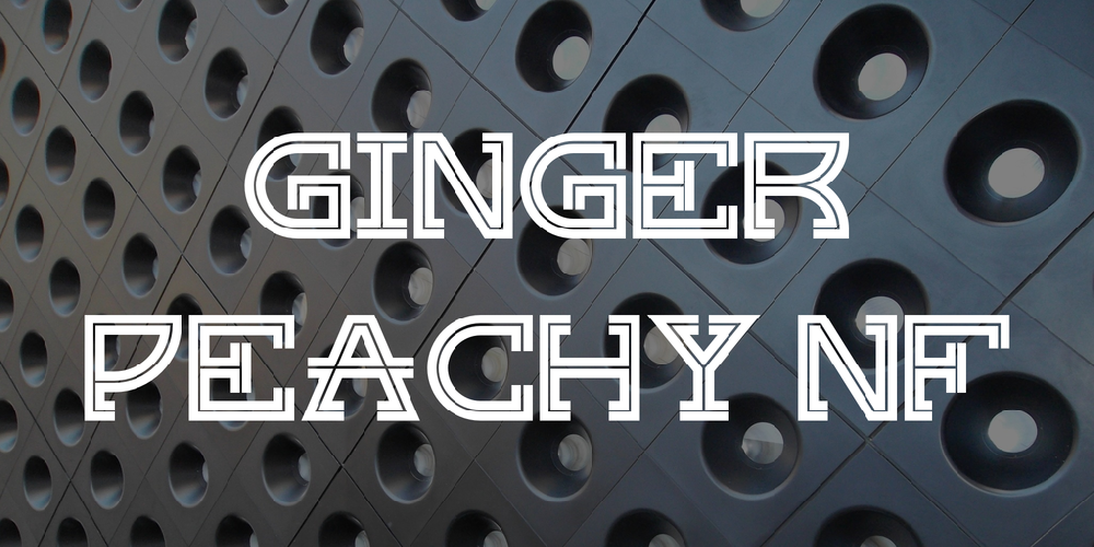 Ginger Peachy NF