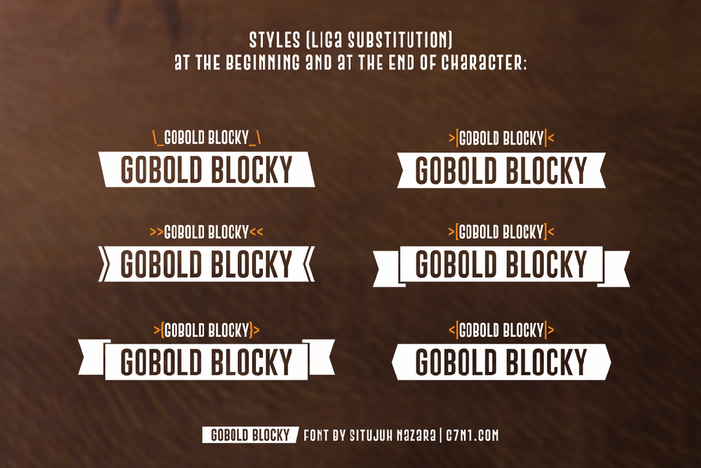 Gobold Blocky