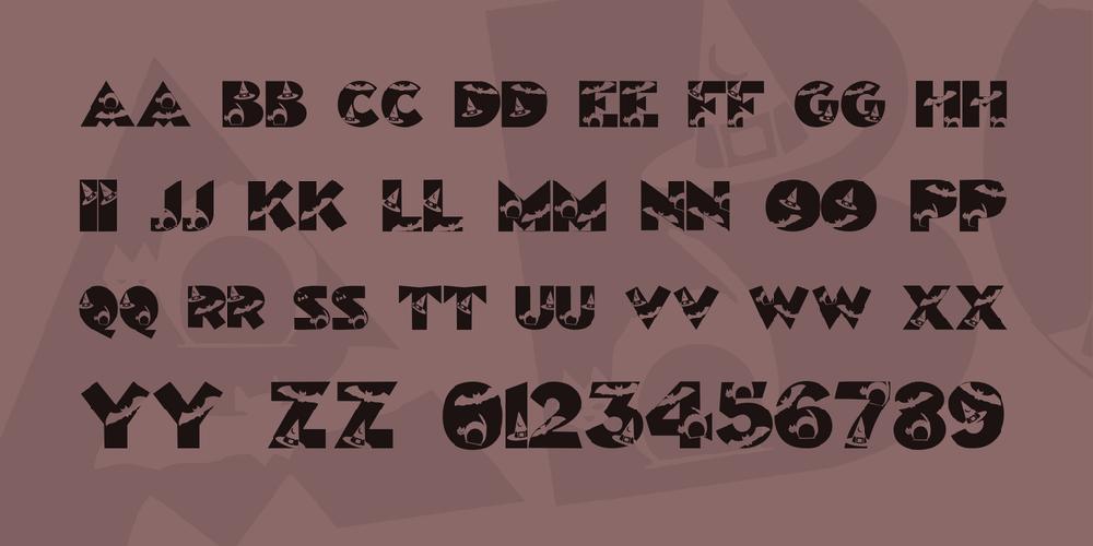 Halloween Kiddy Font