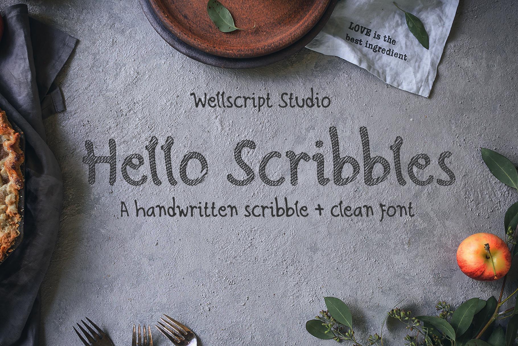 Hello Scribbles