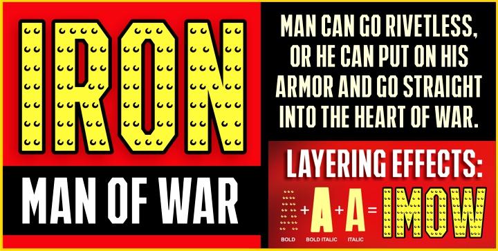 IRON MAN OF WAR