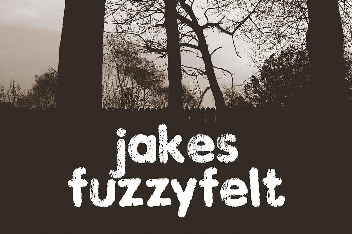 Jakes Fuzzy Felt