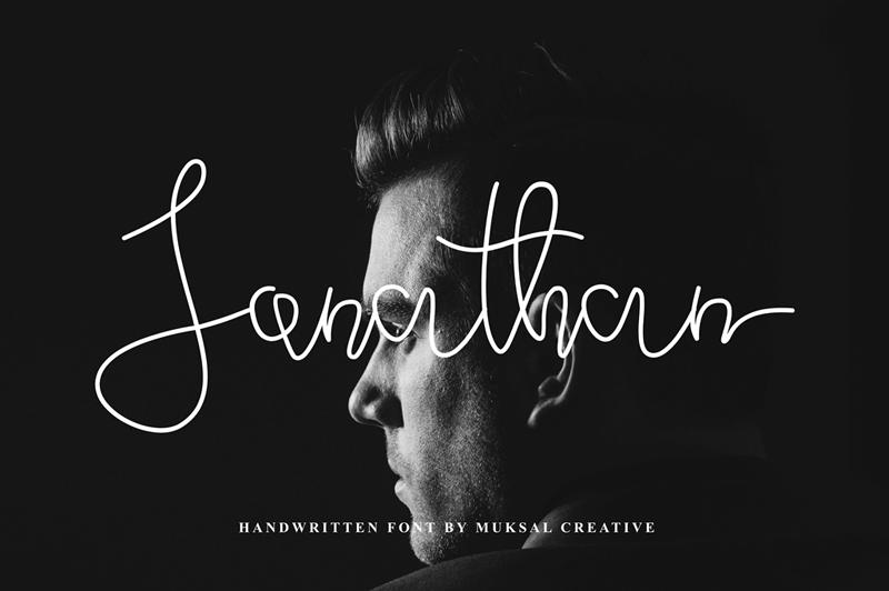 Jonathan script style