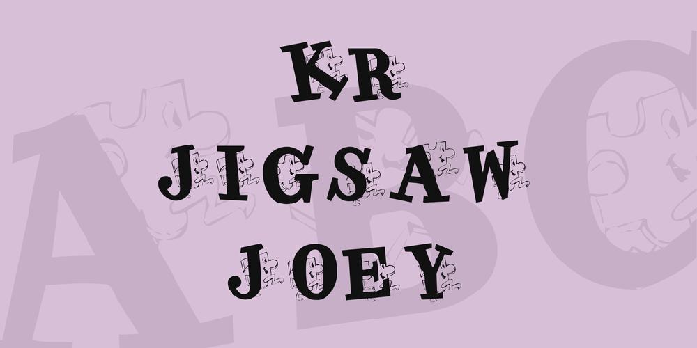 KR Jigsaw Joey