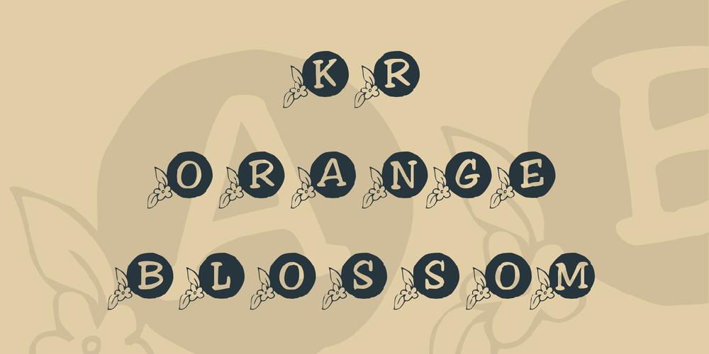 KR Orange Blossom