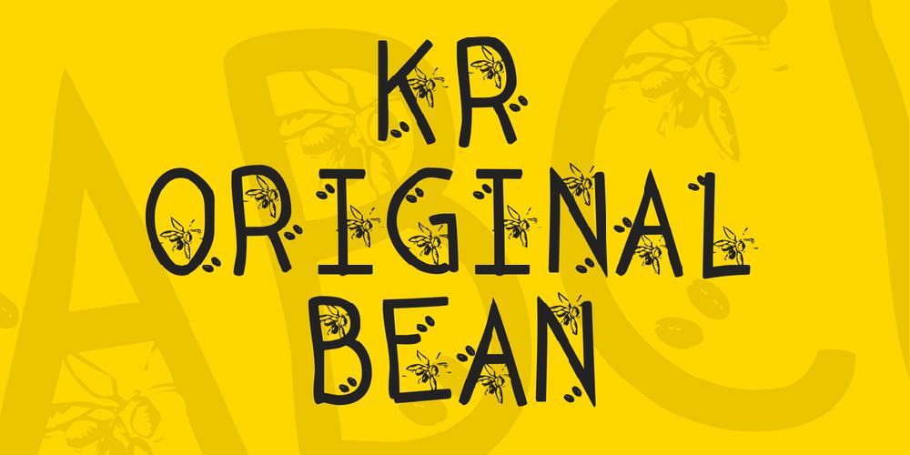 KR Original Bean