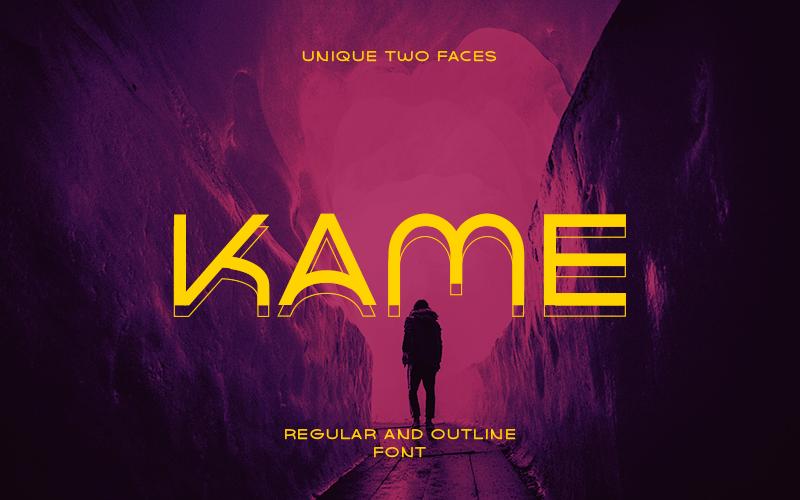Kame Free Outline
