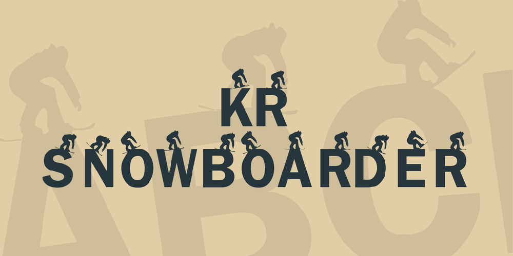 KR Snowboarder