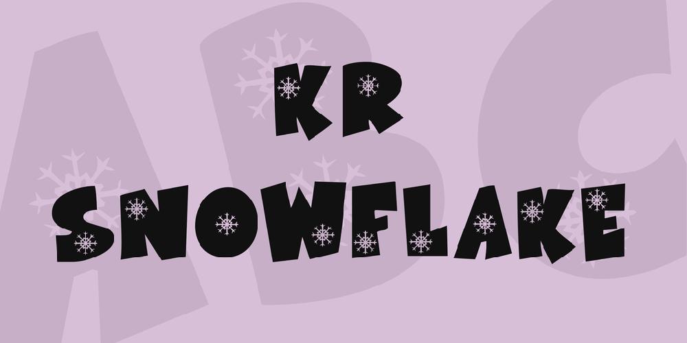 KR Snowflake