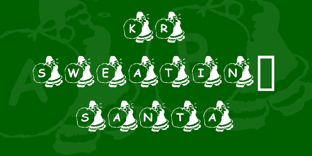 KR Sweatin' Santa