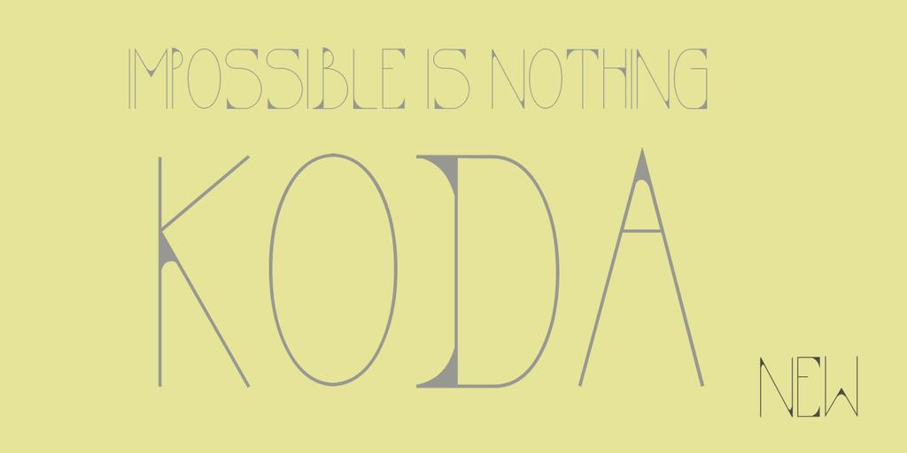 KODA thin