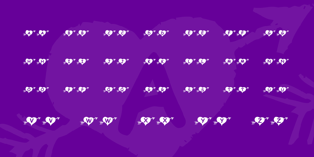 KR Arrow Heart