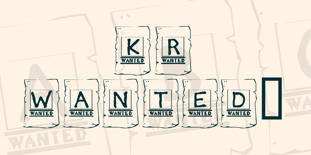 KR Wanted!