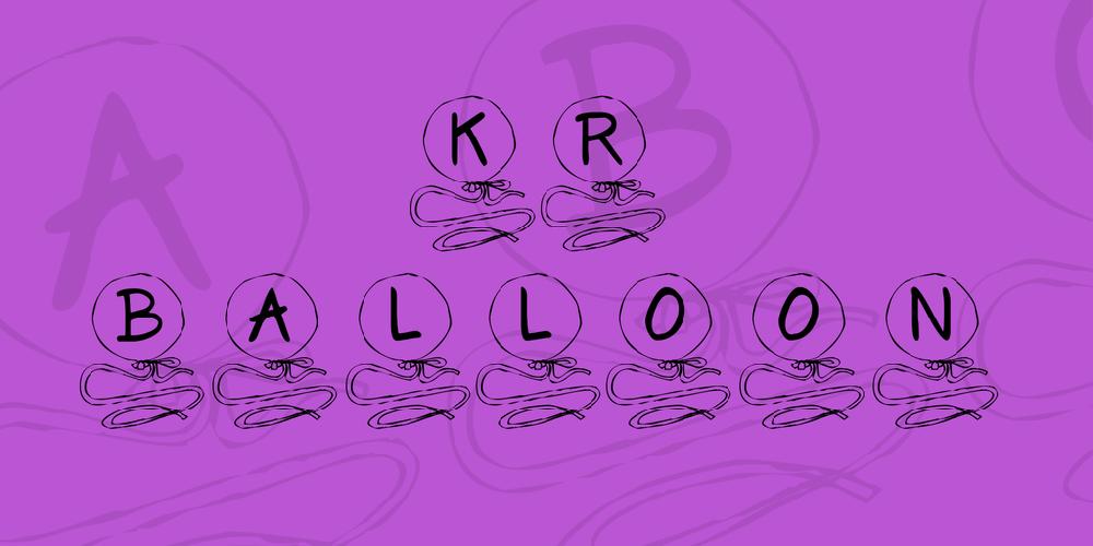 KR Balloon