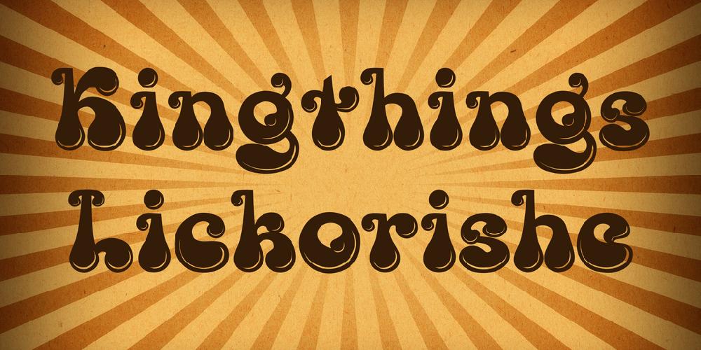 Kingthings Lickorishe