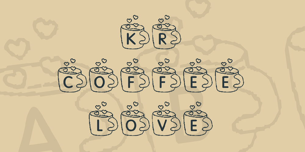 KR Coffee Love