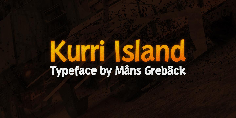 Kurri Island Italic Black