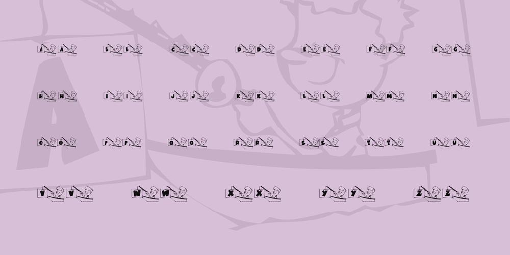 KR Font Fishin