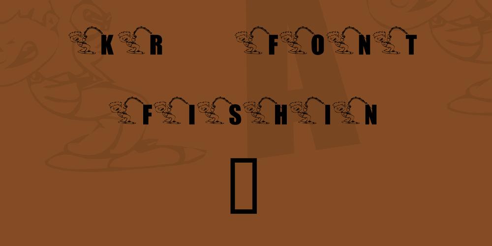 KR Font Fishin 2