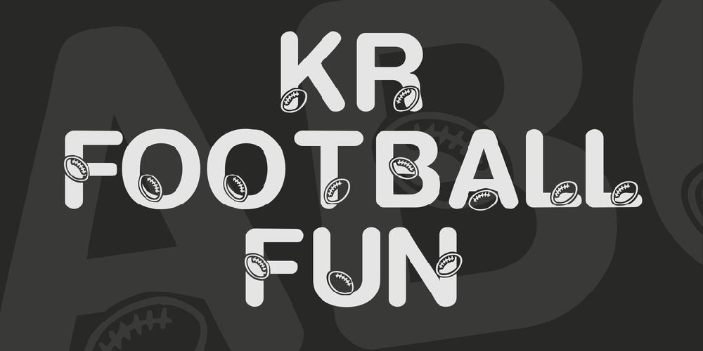 KR Football Fun