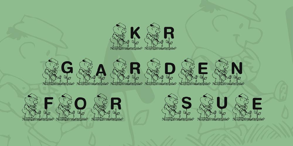 KR Garden for Sue