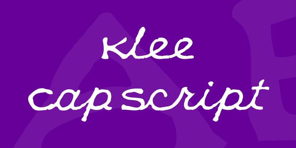 Klee CapScript