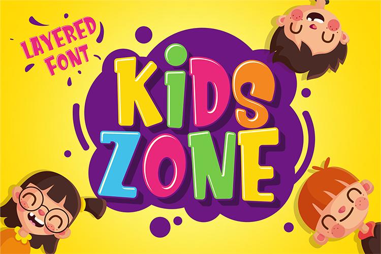 Download Kids Zone font | fontsme com