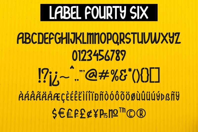 Label Fourty Six