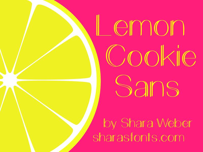 Lemon Cookie Sans