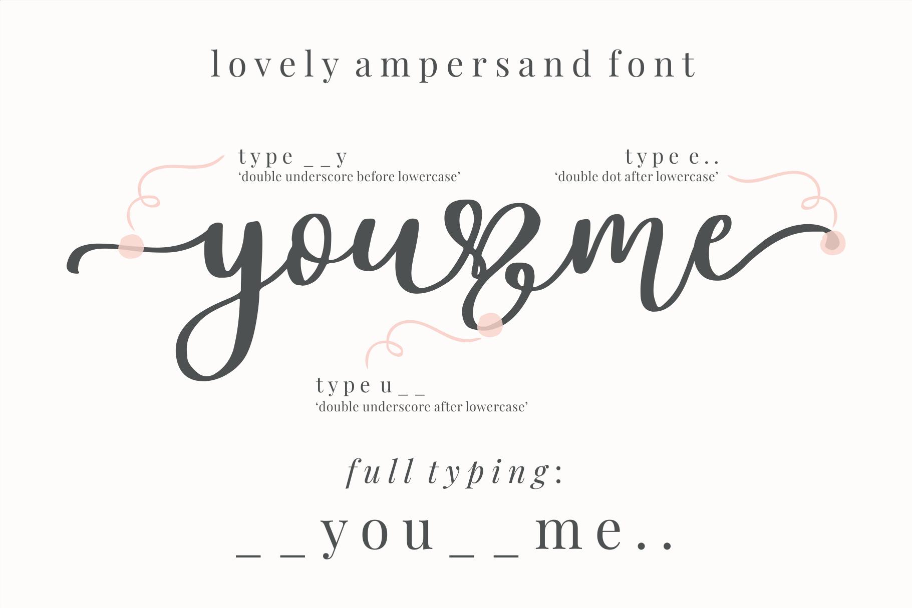 Lovely Ampersand