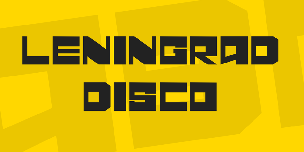 Leningrad Disco