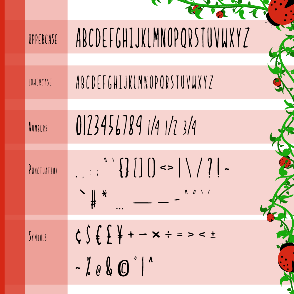 Ladybug-Regular Font