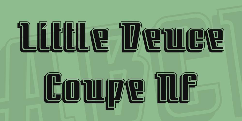 Little Deuce Coupe NF