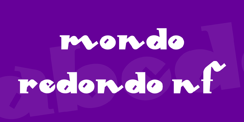 Mondo Redondo NF