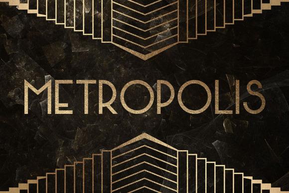 Metropolis Ornaments