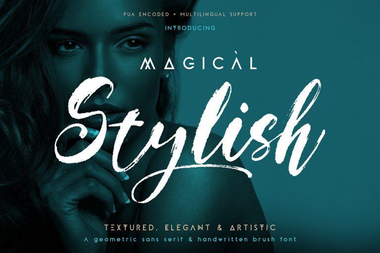 Magical Stylish Script Demo