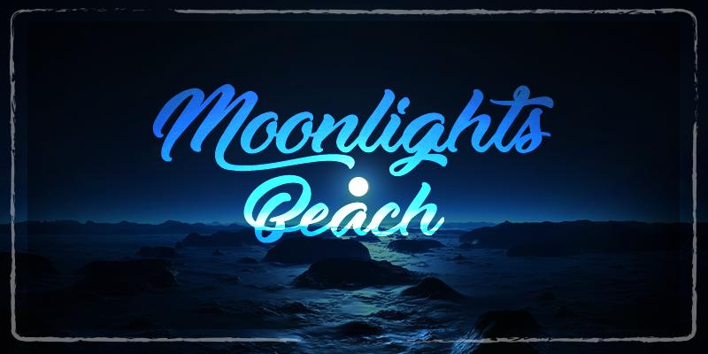 Moonlights On The Beach