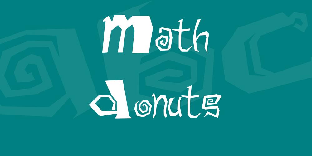 Math Donuts