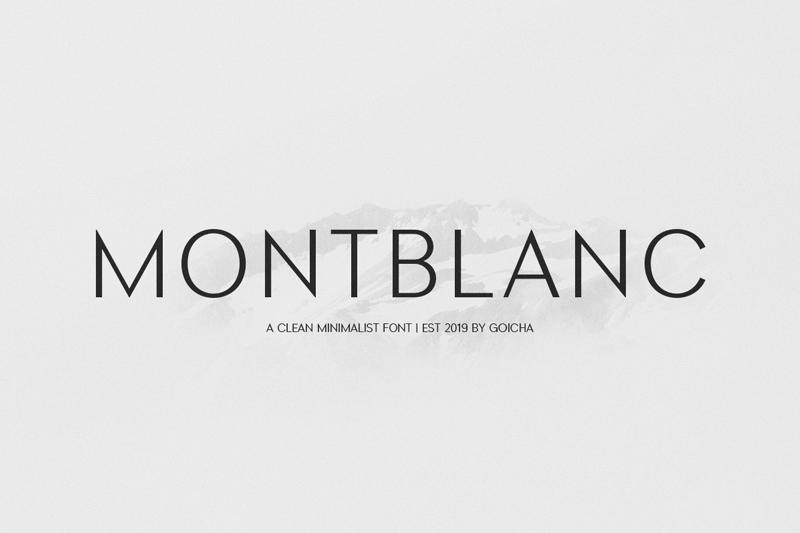 Montblanc san serif