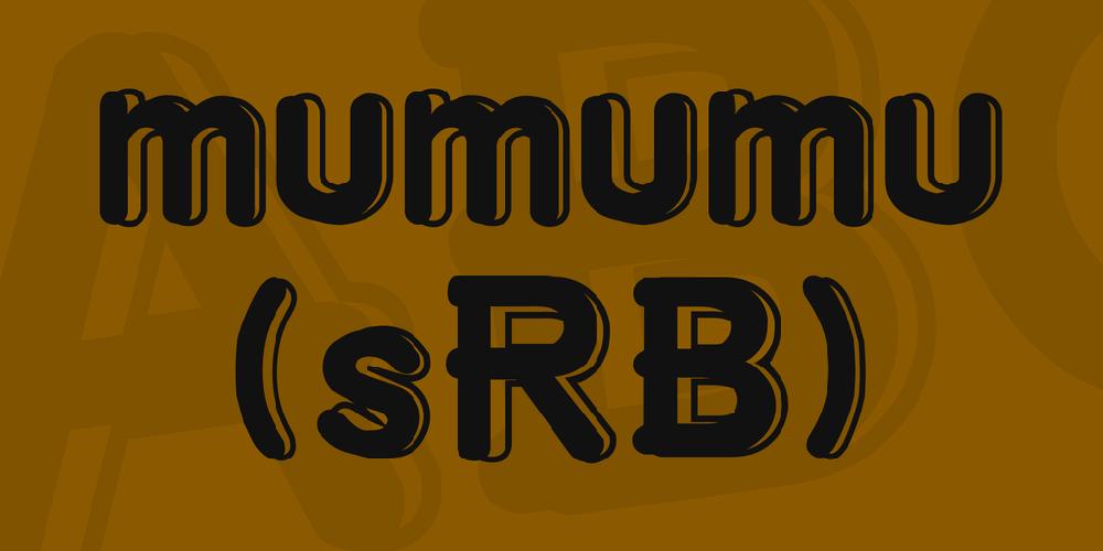 mumumu (sRB)