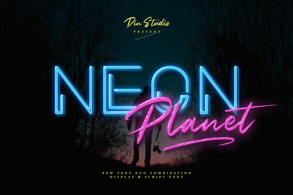 Neon Planet Display Personal Us