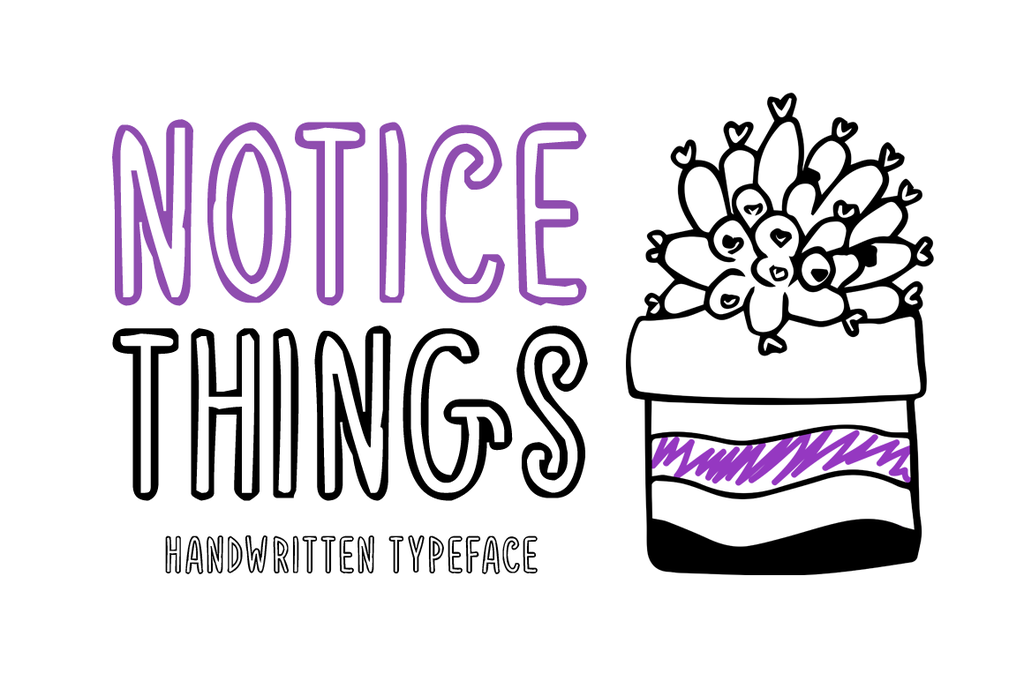 Notice Things outline