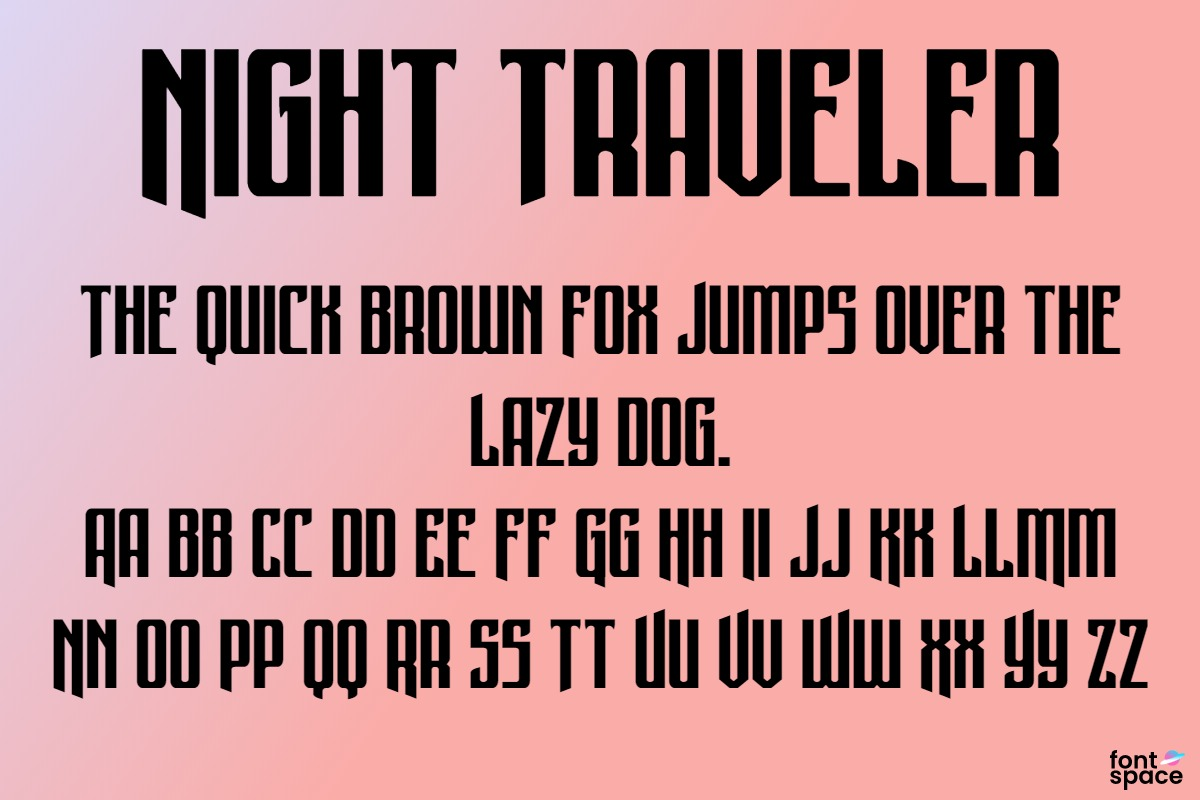 Night Traveler Title