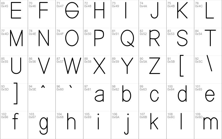 NENNAS sans serif