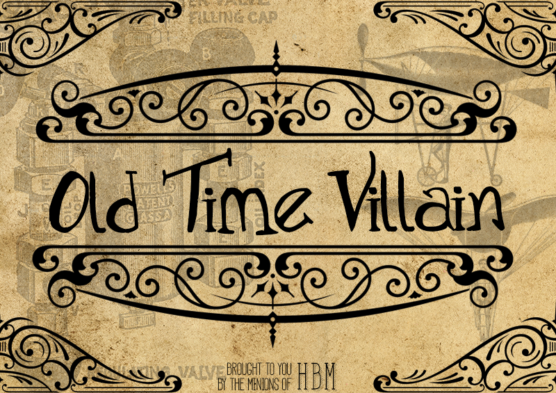 Old Time Villain