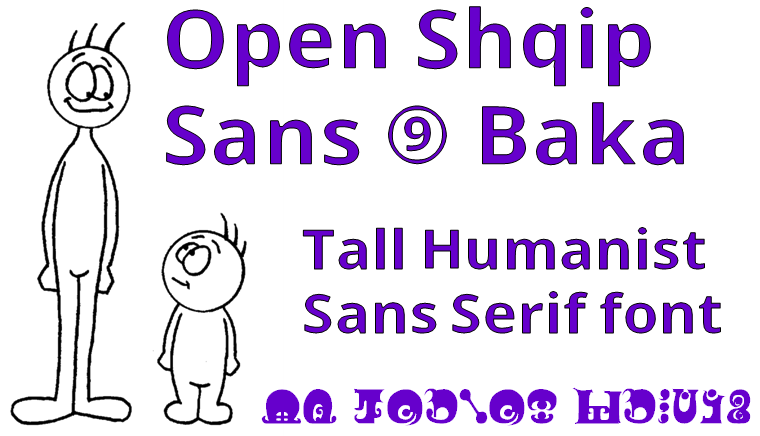 Open Shqip Sans