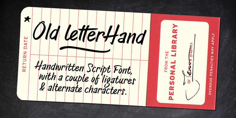 Old Letterhand TRIAL italic